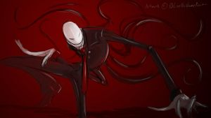 Slenderman: Stepping In or Stepping Out? by bluenonamerunt