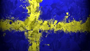 Swedish Flag Wallpaper by GaryckArntzen