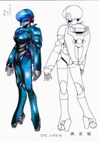 bubblegum crisis Sylia Stingray by 0kronos0