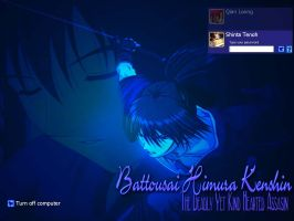 Deadly And Kind Battousai by shintatenoh