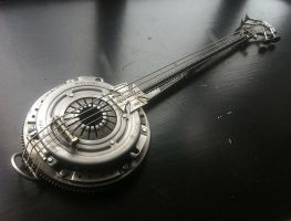 Heavy Metal Banjo by ShaneMartinDesigns