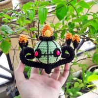 [FREE SHIPPING] Shiny Chandelure amigurumi by NVkatherine