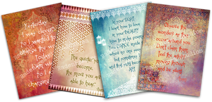 Inspirational Greeting Cards 2 by Spyderwitch