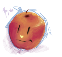 Apple by ohkai