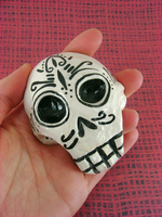 Dia De Los Muertos Skull by monsterkookies