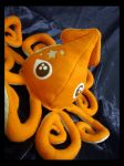 Orange Squid Plush 1 d by TheCurseofRainbow