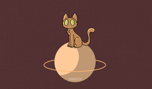 Cat planet by Glameowtyx