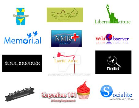 My Logos in Illustrator by geos59