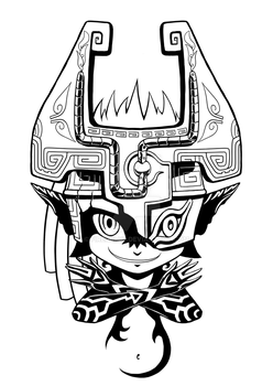 Commission: Midna Shirt Design by Firedblue