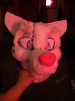 WIP fursuit head base ( foam) by CookieMonsta409