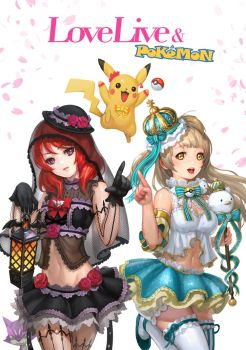 LoveLive Pokemon by inshoo1