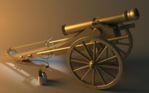 cannon model by HawkeyeWong