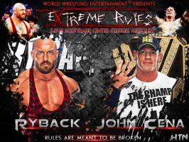WWE Extreme Rules 2013 Custom Wallpaper by HTN4ever