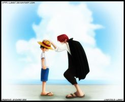 OP chap 1 - Shanks and Luffy by Law67