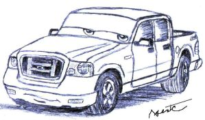 'Cars' ' Ford F-150 by AgentC-24