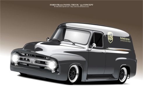 Ford FR100 by AtixVector