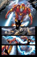Marvel Adventures Ironman 8 by ulises-arreola