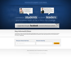 Student Council webpage by prkdeviant