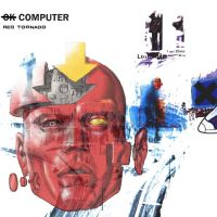 Not TLIID - Red Tornado on OK Computer album cover by Nick-Perks