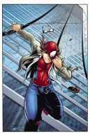 Spidey Commish COLORS by the-BluePhoenix