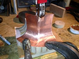 Building a Copper Flare Port Photo 02 by AEvilMike