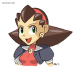 Tron Bonne Sketch by supereva01