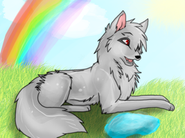 Silver :AT: by I-love-wolvez