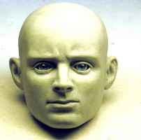 1/3 scale head  sculpt by Switchum