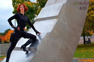 Black Widow: Itsy Bitsy Spider [Youmacon 2013] by katyanoctis