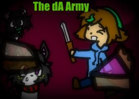 The dA Army by DalmationCat
