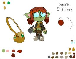 Goblin Engineer by Basher-the-Basilisk