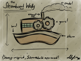 The Steamboat Wally Hat by Sylverstone14