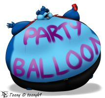 Party Balloon Toony by Lesang