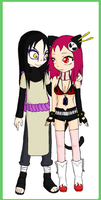 Orochimaru and Tai by shadowkat142