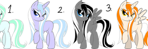 Pony Adopts Wet Hair by flamelover1