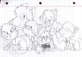 Group picture by TheKitty-O-Kat