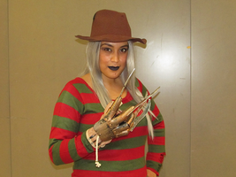 Freddy Krueger - Montreal Mini Comic Con 2015 by J25TheArcKing