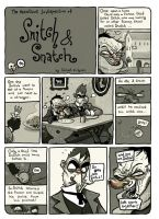 Snitch and Snatch page1 by TheWoodenKing