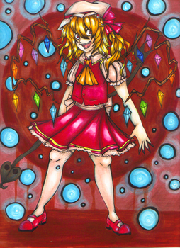 Flandre Scarlet Marker by About12Kittens