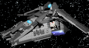 Imperial Dropship Transport by Legotrooper