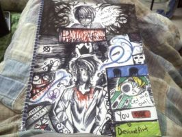 Modified Notebook cover by floriyon