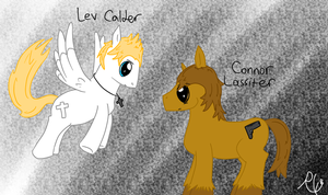 Lev and Connor- mlp by Ruby-Orca-616