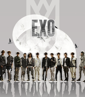 EXO wallpaper by ajikaji