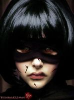 HIT GIRL POSSESSED by Darkness-Man