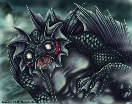 The Shadow Over Innsmouth by TheDragonofDoom