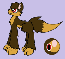 Kirrie Ref (for WolfHomeLuver98) by Vulpix150