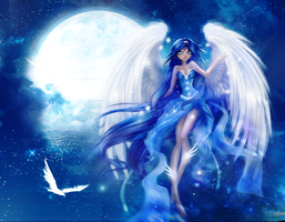 CE: Luna: Winx Style: Only blue by Nagashia