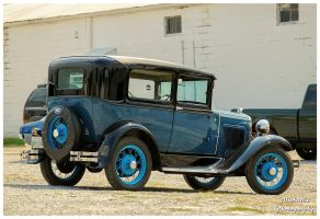 A Blue Ford Model A by TheMan268