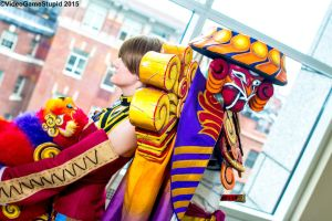 Anime Boston 2015 - Trainer and Guardian(PS) 04 by VideoGameStupid