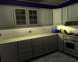 Kitchen 3D by CatStock